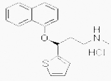 Duloxetine hydrochloride, N-Methyl-gama-(1-naphthalenyloxy)-2-thiophenepropanamine CAS #: 136434-34-9 - Chemicals from China: intermediates, biochemicals, agrochemicals, flavors, fragrants, additives, reagents, dyestuffs, pigments, suppliers.